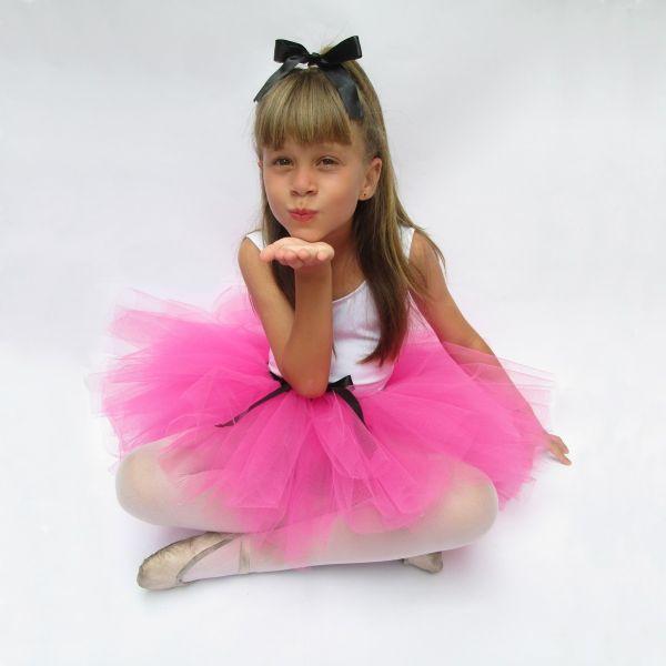 e198913591 Saia de Tule - Tutu - Comum Em Uma Cor Só - Para Ballet ♥